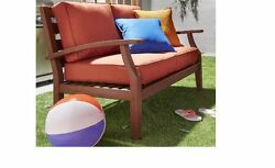 Sofas And Love Seats Sets For Small Spaces Outdoor Furniture Cushions Patio Red