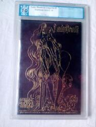 LADY DEATH IN LINGERIE #1 LEATHER EDITION PGX 10.0(NOT CGC) MINT PLUS !