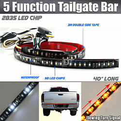 Sequential Flowing Signal Light LED Strip Tailgate Bar Brake Reverse Truck SUV $19.99