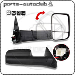 Power Heated Side Mirrors For 2002-08 Dodge Ram 1500 2003-09 2500/3500 Tow Pair $127.98