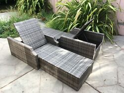 Restoration Hardware Outdoor patio Chaise Lounge chairs patio sofa couch