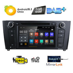 Android 8.1 for BMW E81 E82 E88 7