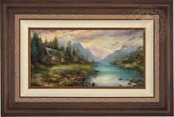 Thomas Kinkade Father's Perfect Day 12 x 24 Limited Edition EE Canvas