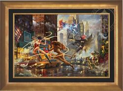 Thomas Kinkade Women of DC 24 x 36 Limited Edition EE Canvas Framed DC Art