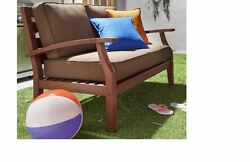 Sofas And LoveSeats Sets For Small Spaces Outdoor Furniture Cushions Patio Brown