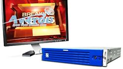 CHYRON Powerclips MX 4CH HDSD Video Clip Server 5x512GB SSD Full option Playout
