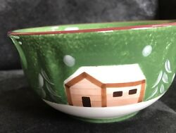 The Cellar LOG CABIN Soup Cereal Bowl 1 Made in China 2004 Replacement