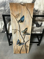 wall butterfly painting home decor $30.00