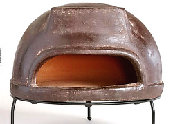 Clay Terracotta Crafted Pizza Oven Wood Burning wStand Outdoor Cooking Patio