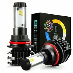 JDM ASTAR 4S 8000LM 9004HB1 LED Headlight High and Low Beam Bulbs 6500K White