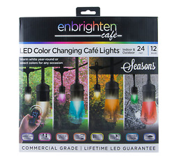 Outdoor String Lights For Patio Vintage Home Indoor Outdoor Cafe Color Changing