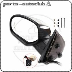 Driver Side Power Fold Memory Heated Chrome Signal Mirror For 07 14 Chevy GMC $109.44