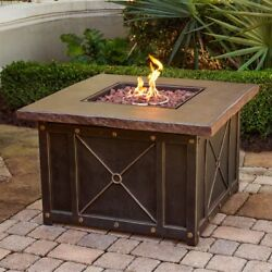 Cambridge Cambridge CLASSIC1PCFP Classic Durastone Top Gas Fire Pit Table