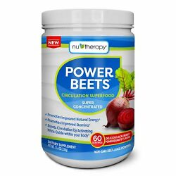 NuTherapy Power Beets Juice Powder (60 servings)