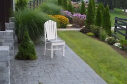 A&L Furniture Co. Amish-Made Poly Adirondack Dining Chairs - In 13 Colors