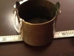 Dovetailed Miniature Copper Bucket $45.00