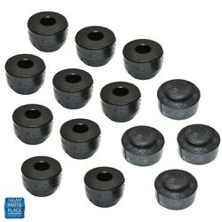 68-72 GM Cars Body OEM Body Bushing To Frame Kit - Concourse Set Up - 24 Pieces
