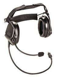 MSA 10079962 Supreme Pro Headset Electronic Ear Muff Neckband Single Commun...