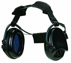 MSA 10079966 Supreme Pro Neckband Model Earmuff with Black Neckband
