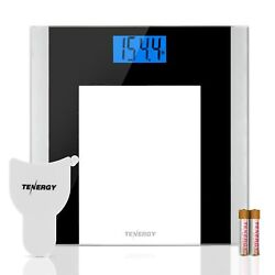 Tenergy Body Weight Scale 400 Pounds Digital Bathroom Scale Body Measuring Tape $19.99