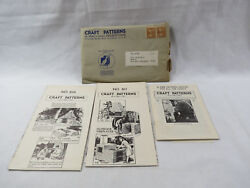 1940s A. NEELY HALL CRAFT PATTERNS Outdoor Fireplaces BRICK STONE building plans