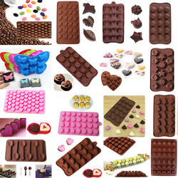 Silicone Mold Chocolate Ice Cube Candy Cake Fondant Soap Jelly Soap Baking Mold