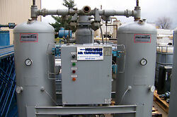 Pneumatech Heated Twin Tower Desiccant Dryer 400 cfm  use only 7% of compressed