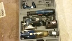ryboi 18v 5 peice cordless set very great condition missing drill. $49.35