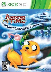 Xbox 360 Adventure Time: The Secret Of The Nameless Kingdom Video Game COMPLETE $10.50