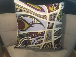 What she really wants for Mother's Day: Emilio Pucci silk pillow custom made!
