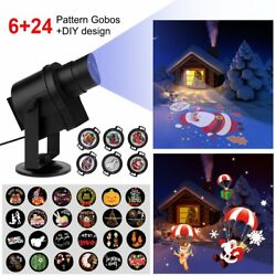 Diglot New DIY LED Projector Lights 30pcs Gobos with 360° Rotating  Anti-fading