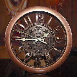 Wall Clock 3D Home Modern Decor Element Anique Style Office Livingroom Big Watch $24.99