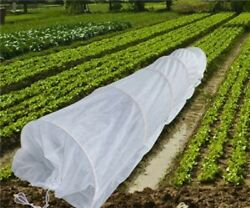 Hoop House Kit Mini Greenhouse Grow Tunnel Frost Protection Cover (20f Long)