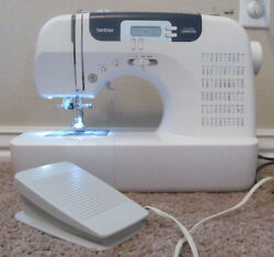 Brother CS6000i Sewing Machine w Foot Pedal & Power Supply In Great Condition