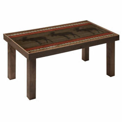 NEW DECORATIVE WOOD PINE PALLET COFFEE TABLE 32