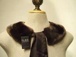 FAUX FUR BOW TIE COLLAR SCARF NECK WARMER $7.95
