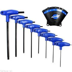 Park Tool PH-1.2 P-Handled Bicycle Hex Wrench Set w holder 22.53456810mm