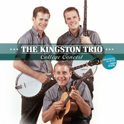 KINGSTON TRIO - COLLEGE CONCERT   VINYL LP NEW+