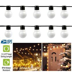 10 led Lighting Patio Party Globe Ball String Lights Bulb Set for Wedding Party