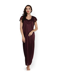 Night Wear Women Hot Dress Sleep Wear BohemianShort Sleeve Top Maxi For Gift $16.44