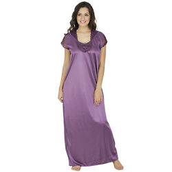 Indian Women Maxi Night Wear Short Sleeve Sundress Top Maxi For Hot Lady $16.99