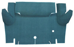 1965 1966 Ford Mustang Trunk Mat Nylon Convertible Trunk Kit Floor Only $157.95