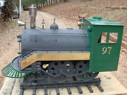 Hand-made iron wood stove train furniture kitchen or outdoor decor