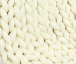 Soft Undyed Merino Roving - 7 lb Special for Cozy and Warm Arm Knitted Blankets