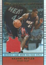 2002-03 Topps Jersey Edition #JERB Rasual Butler Road Jersey Miami Heat