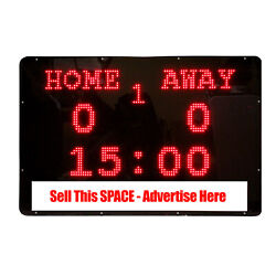 Bravo Youth Sports BSSB1 The Bravo Board Portable LED Message and Scoreboard