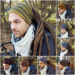 Mens Headband Dreadlock Accessories Head Scarf Dreadlock Tube Sock Hairband Men $14.90
