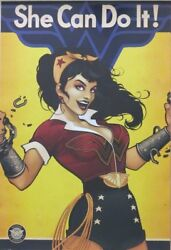 Wonder Woman : She Can Do It!- Poster-Laminated Available-91cm x 61cm-Brand New