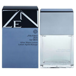 Zen for Men by Shiseido After Shave Lotion Splash 3.3 oz New in Box $24.95