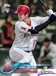 2018 Topps Shohei Ohtani FIRST PRINTED TOPPS ROOKIE CARD w RC Logo LA Angels $39.95